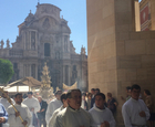Corpus Christi blesses the streets of Murcia City