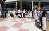 Town Hall staff protest against gender violence and homophobia across Murcia