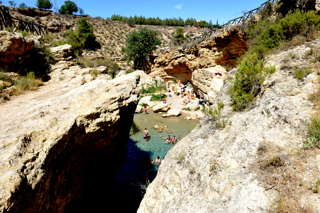 The Salto del Usero in Bullas