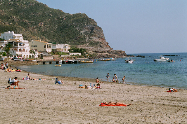 Águilas beaches: Playa de Calabardina