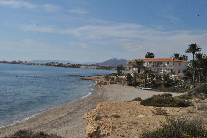 Mazarrón beaches: Playa de la Raja