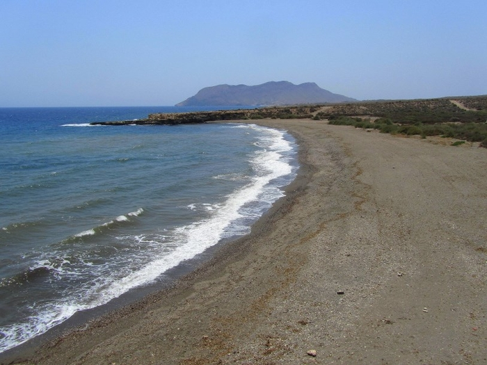 Águilas beaches: Playa del Saladar