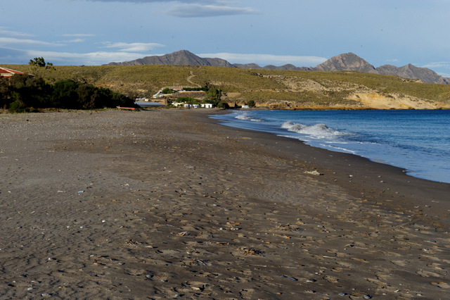 Mazarrón beaches: Playa de Parazuelos