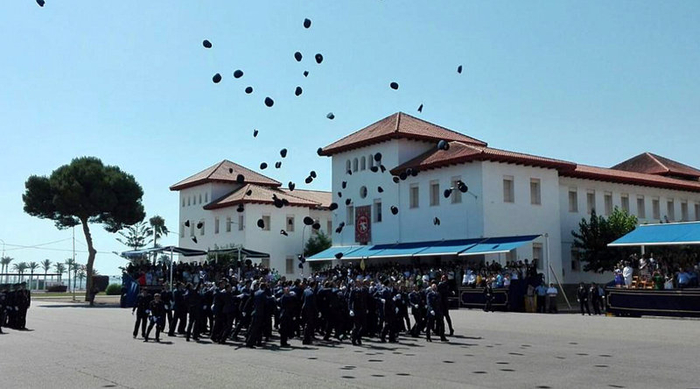 <span style='color:#780948'>ARCHIVED</span> - 91 new officers graduate from the air force academy in San Javier