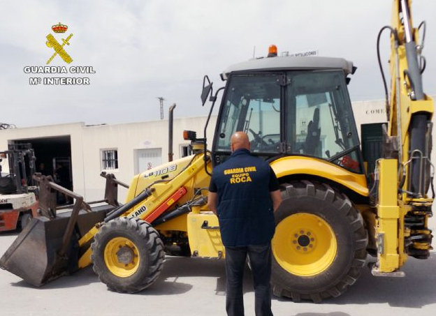 <span style='color:#780948'>ARCHIVED</span> - Mula JCB thief arrested in Albacete