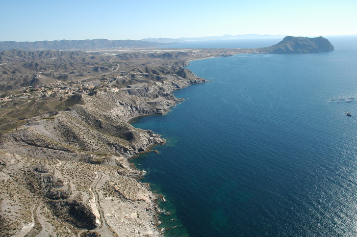 Aguilas beaches: Playa de Calabarrilla