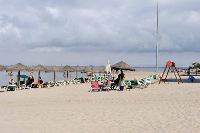 Playa Veneziola, La Manga del Mar Menor beaches in San Javier