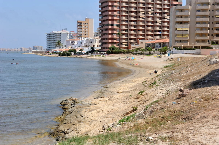 Playa Las Antillas, A Mar Menor beach in the San Javier section of La Manga