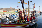 Cartagena remembers the arrival of Santiago Apóstol in Spain