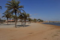 Cartagena beaches: Playa Lomas del Castillico