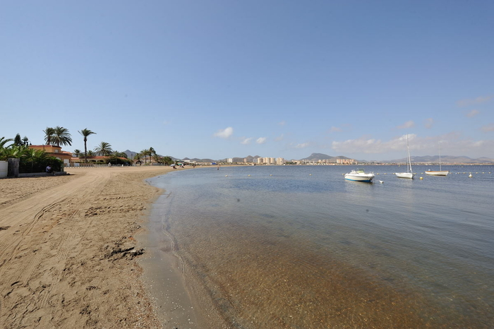 Cartagena beaches: Playa del Vivero