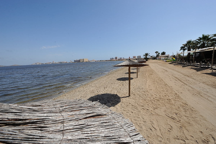 Cartagena beaches: Playa de los Alemanes