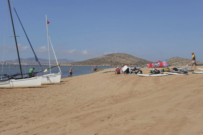 Cartagena beaches: Dársena de Dos Mares in La Manga del Mar Menor