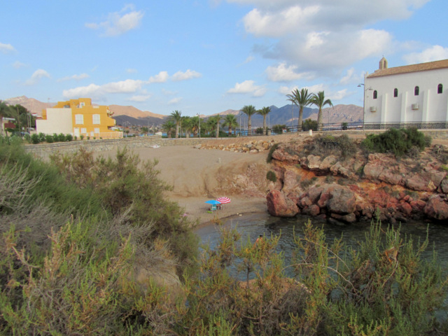Cartagena beaches: Playa La Caleta (Isla Plana)