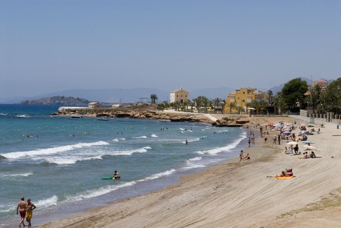 Cartagena beaches: Playa Isla Plana