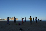 Tai Chi and Yoga on the beach in Águilas every day during August
