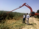 Work underway to divert agricultural run-off away from the Mar Menor