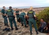 30 illegal immigrants detained on the Murcian coastline
