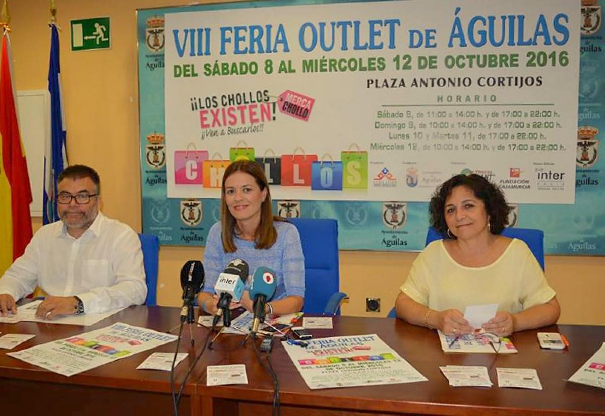 Águilas prepares for the VIII Feria Outlet del Comercio y los Servicios de Águilas