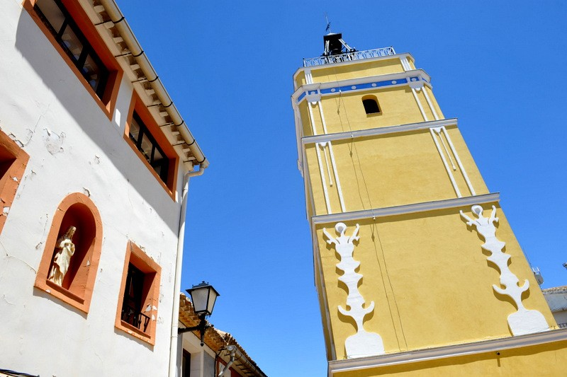 Torre del Reloj the clock tower of Bullas
