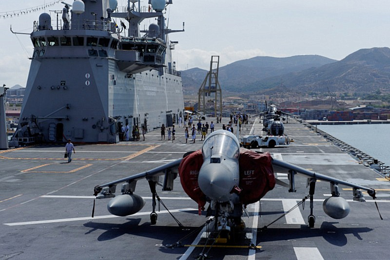! Murcia Today - Spanish Aircraft Carrier Open For Visits ... Spanish Aircraft Carrier News