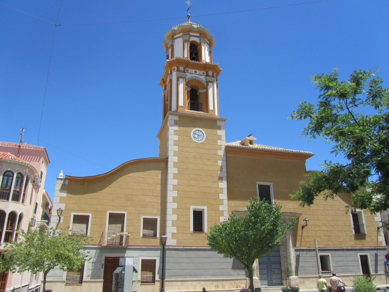 The parish church of Bullas, the Iglesia de Nuestra Señora del Rosario