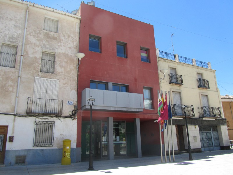 The Town Hall or Ayuntamiento of Bullas
