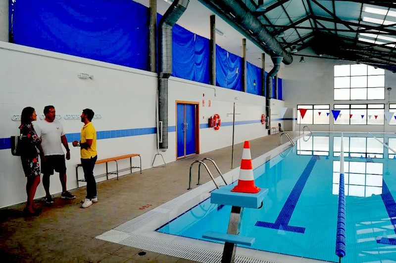 Murcia Today Guilas Re Opens Second Indoor Municipal Swimming Pool