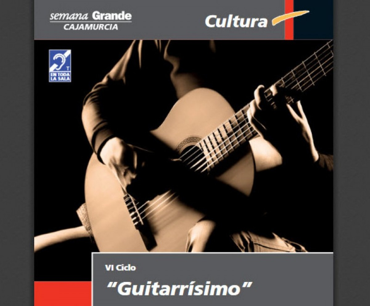 26th to 28th October Cycle of free guitar concerts in Murcia City
