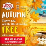 Pay once, go back all autumn for free: Terra Natura Murcia