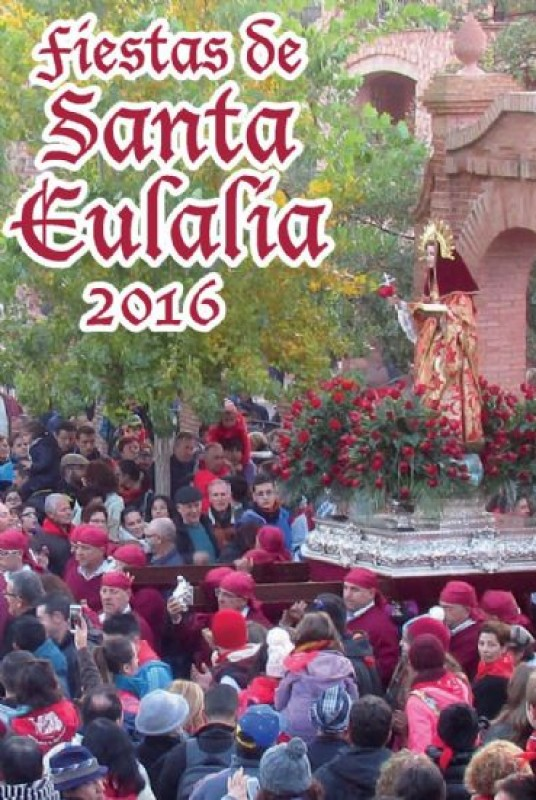 <span style='color:#780948'>ARCHIVED</span> - 2nd to 10th December Fiestas of Santa Eulalia in Totana
