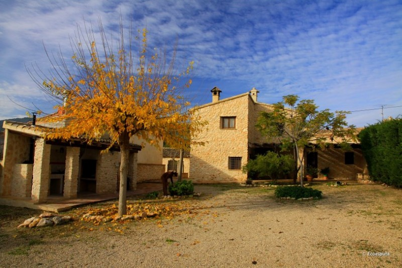 Accommodation in Alhama de Murcia, Cortijo Las Golondrinas