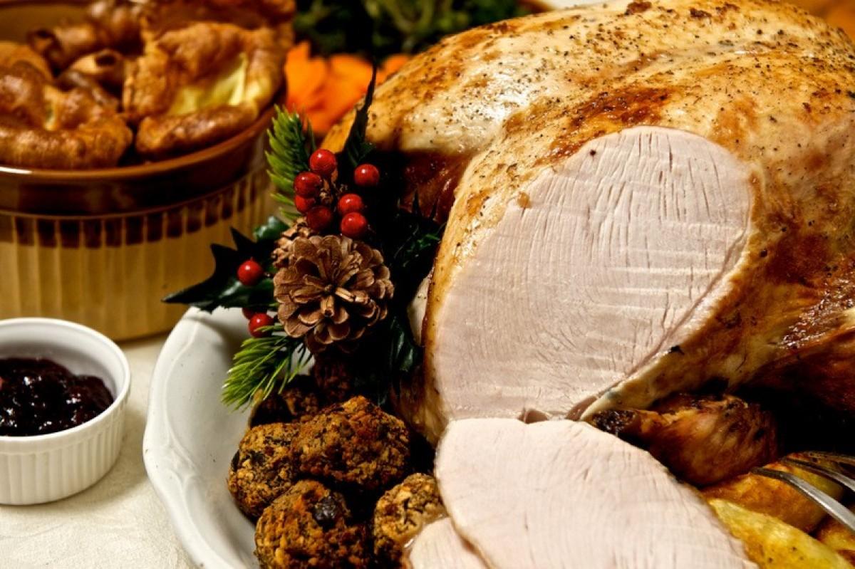 25th December La Cumbre Hotel in Mazarrón Christmas lunch menu