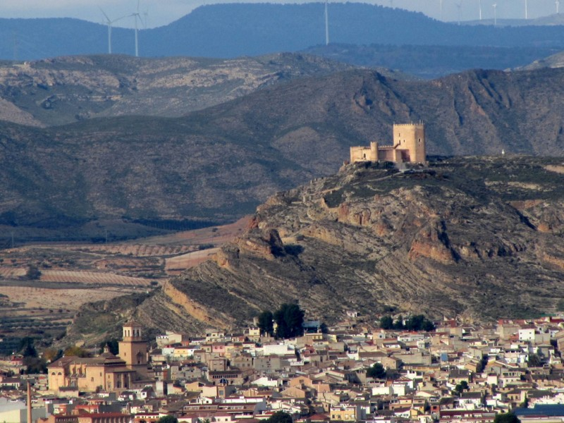 The castle of Jumilla