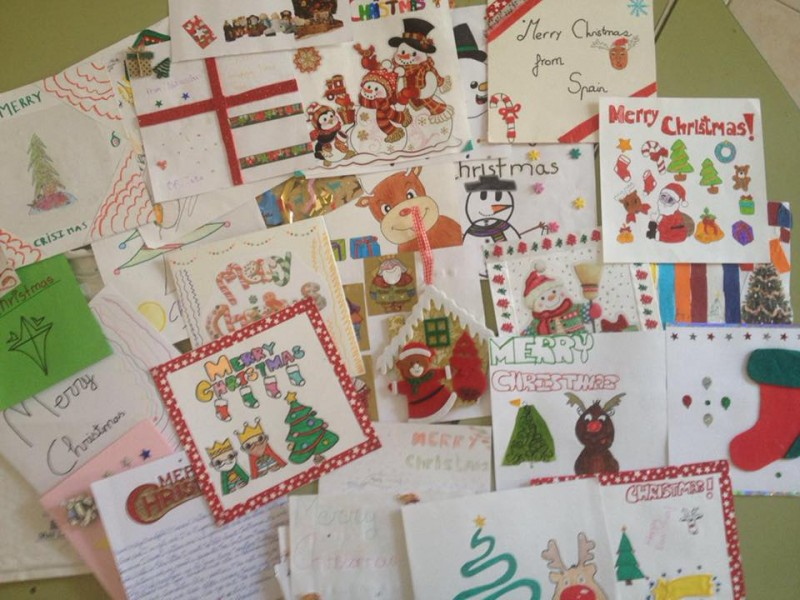 Murcia today lorca school exchanging christmas greetings with murcia today lorca school exchanging christmas greetings with danish counterparts m4hsunfo
