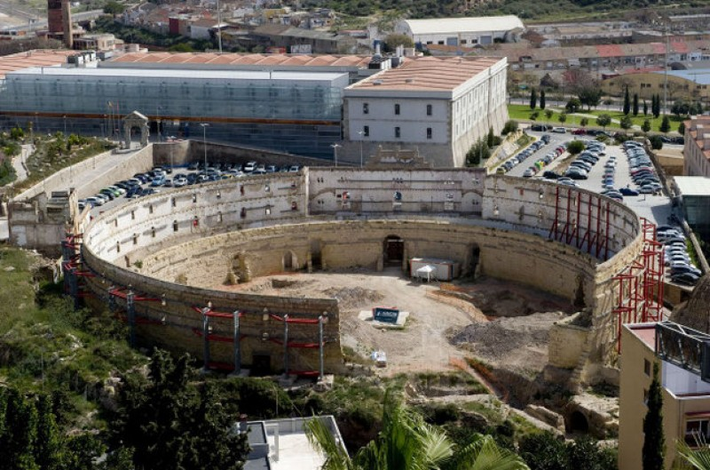 <span style='color:#780948'>ARCHIVED</span> - Cartagena seeks more EU funding to excavate the Roman Amphitheatre