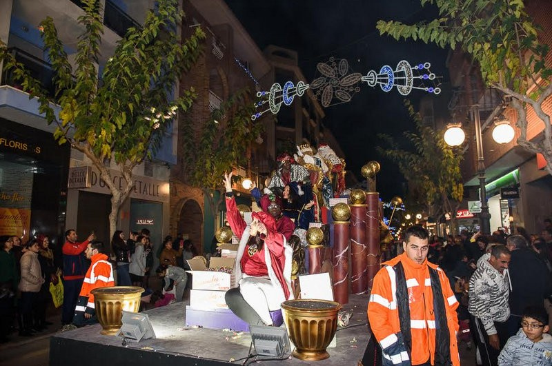 Three Kings fined for traffic offences in Mazarron