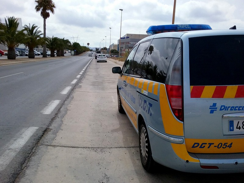 Mobile radars this week in Cartagena and Murcia municipalities