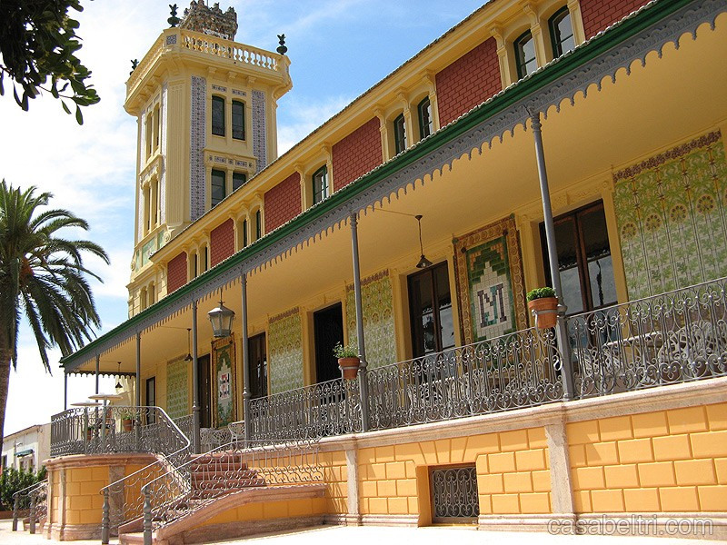 Casa Beltri restaurant Cartagena housed in a beautiful listed building