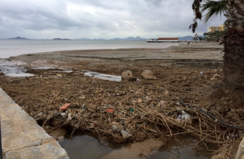 <span style='color:#780948'>ARCHIVED</span> - Mar Menor flood damage estimated at 200 million euros but the beaches will be ready for Easter