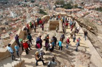 11th February guided visit to Alhama de Murcia Castle