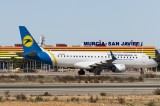 Treat for plane spotters at San Javier airport