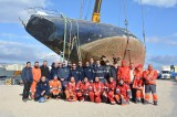 145 ton abandoned yacht finally removed from Águilas fishing port