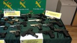 Four detained in Murcia as part of major arms trafficking operation
