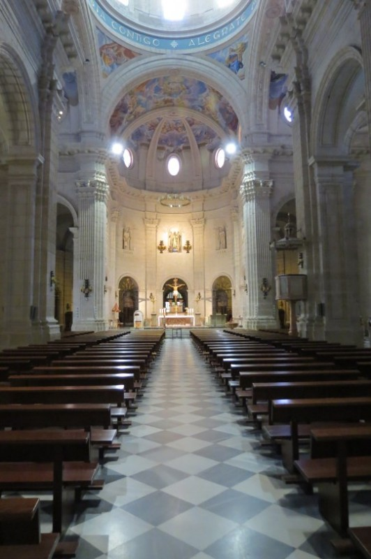 The Basilica de la Purisima in Yecla