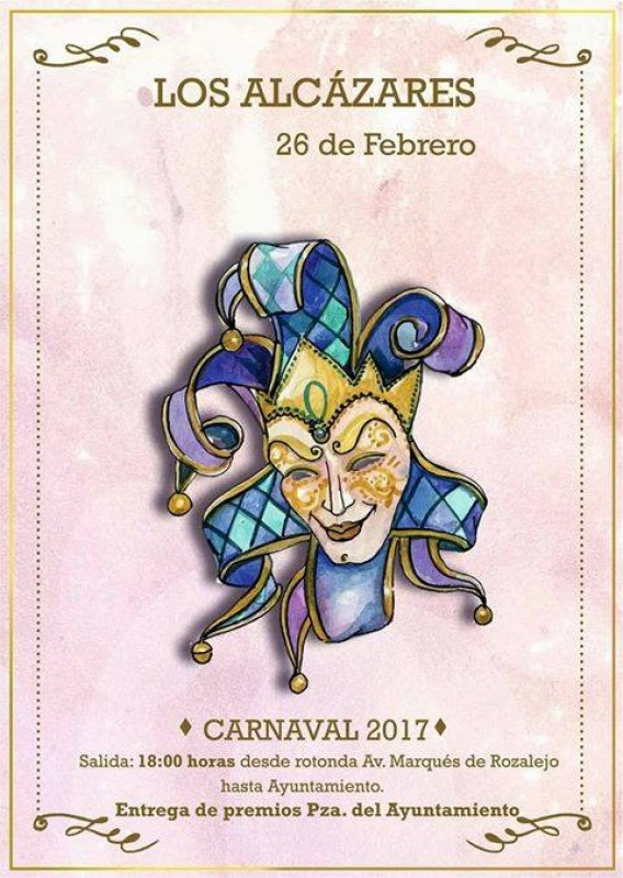 <span style='color:#780948'>ARCHIVED</span> - 26th February Carnival in Los Alcázares
