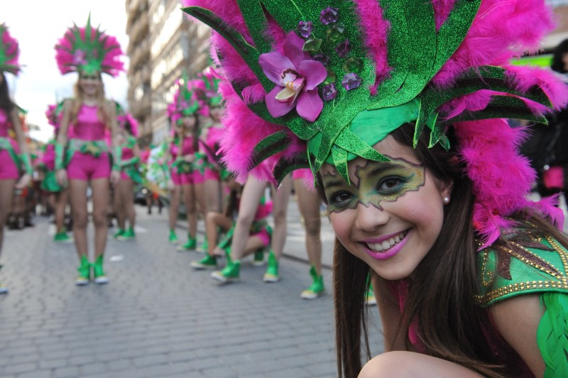 17th to 28th February Carnival in Cartagena