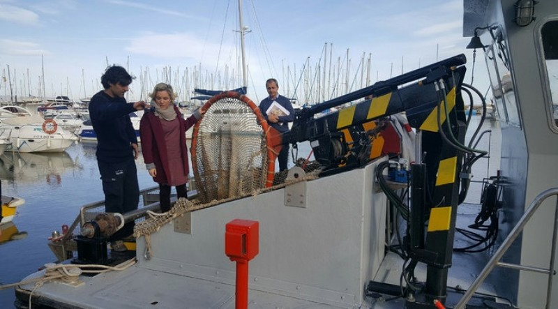 New boat devoted to cleaning up the Mar Menor