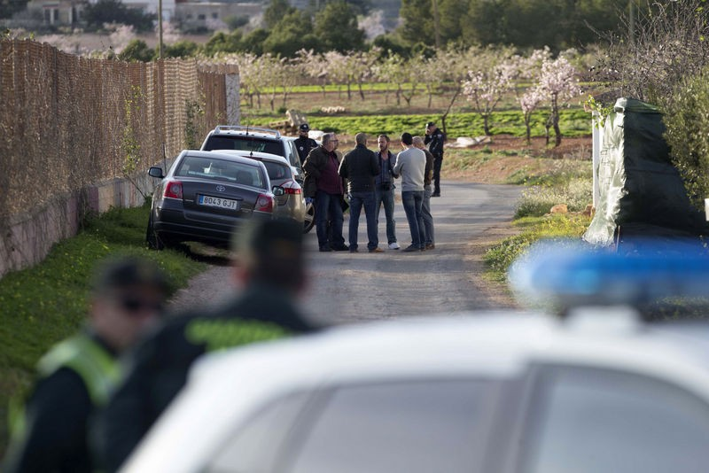Gruesome murder in the Cartagena countryside