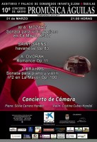 31st March Pro-music classical cycle of concerts in Águilas